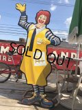 Vintage McDonald U.S.A Ronald McDonald Wooden Sign Very HARD TO FIND!!!!! (B477)