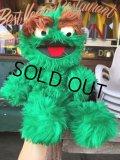 70s Vintage Knickerbocker Sesame Street Oscar Plush Doll 45cm (B485)