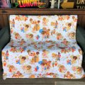 70s Vintage Original McDonalds Twin Size Bed Comforter 220x175cm (B487)