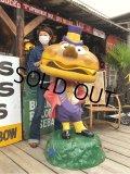 Vintage Mcdonald's Playland Mayor McCheese Statue (B490)