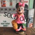 Vintage Disney Plastic Bank  Minnie Mouse (B498)