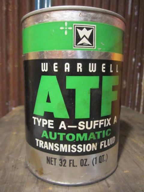 Sale vintage atf quart can motor gas oil pj691 for Sale on motor oil