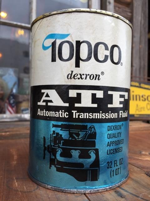 Sale vintage topco 1 quart motor oil can dj881 for Sales on motor oil