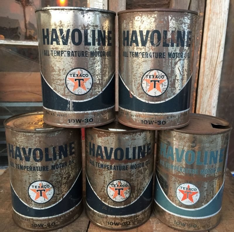 Sale vintage texaco havoline 1 quart motor oil can al4218 2000toys Sale on motor oil
